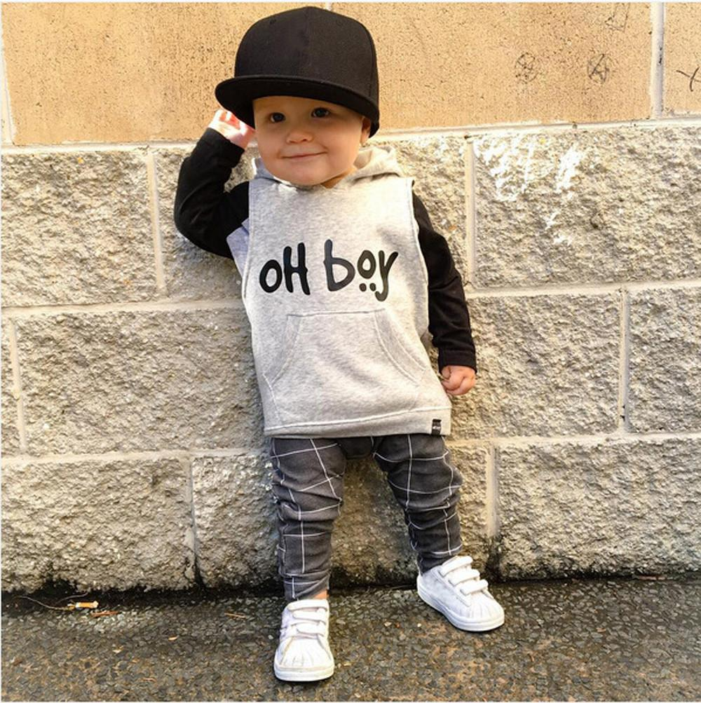 32d882f73b5 Oh Boy Set Fashion Hooded Top Pants Outfits