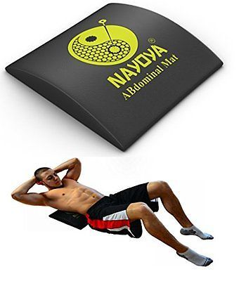 Six Pack Abdominal Mat For Full Range Of Motion Of Ab Workouts Body Support New Abs Workout No Equipment Workout Total Ab Workout