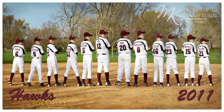 Baseball Team Photo Poses Chicago Sports Photography