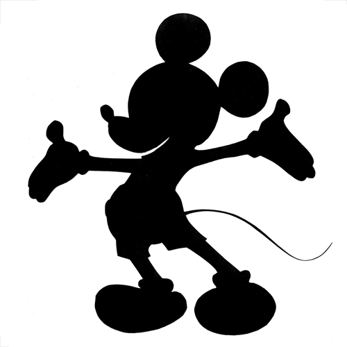 100 Pics Silhouettes 1 Level Answer Mickey Mouse Mickey Mouse Silhouette Mickey Silhouette Disney Silhouettes