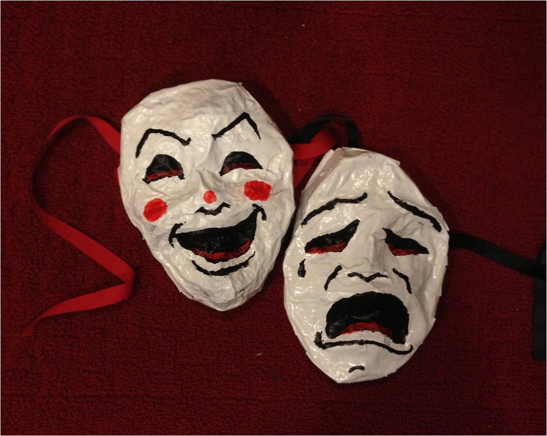 Philosfx Theater Masks A Fun Diy Papier Mache Project