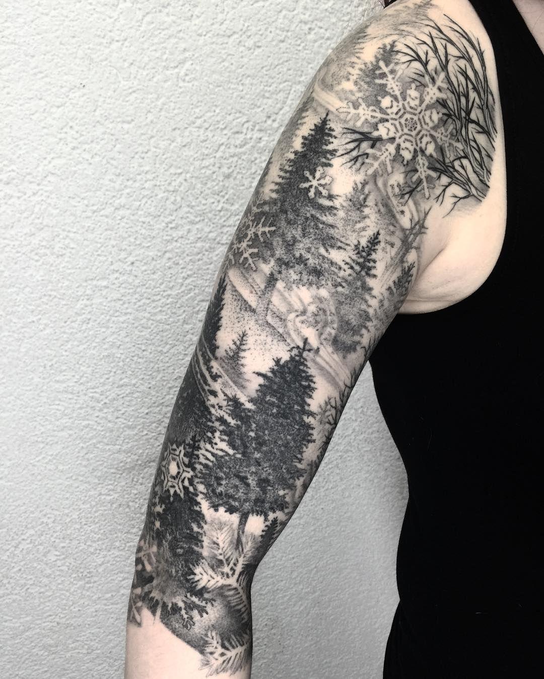 snowflake tattoo49 | Tattoo | Pinterest | Tattoo, Tatting ...
