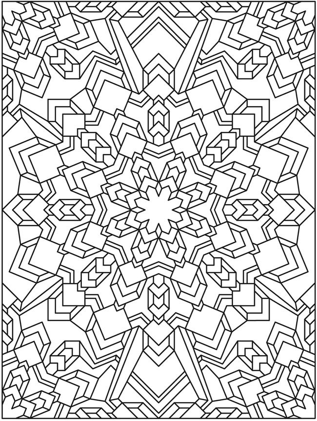 Welcome to Dover Publications Creative Haven Mandala Madness ...