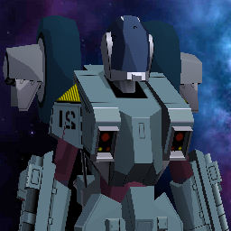 Early Cyclone 3d model (Robotech / Mospeada)