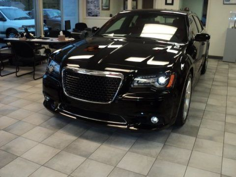 The Going Out For The Night Car. Chrysler 300 Str8 Black on Black