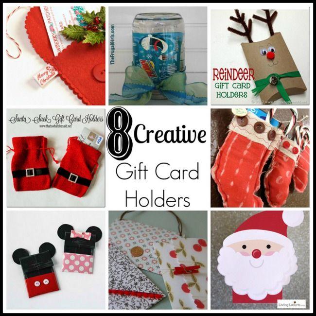 Diy Christmas Gift Card Holder: 8 Creative Gift Card Holders