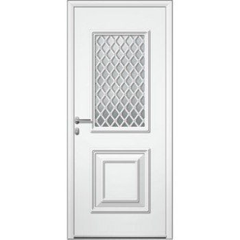 Porte D Entrée Sur Mesure En Aluminium Utah Grille Artens