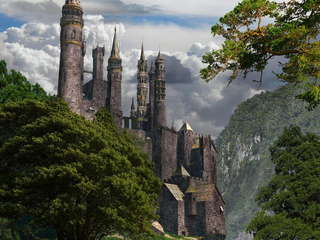fantasy castle scotland castles castle fantasy castle places