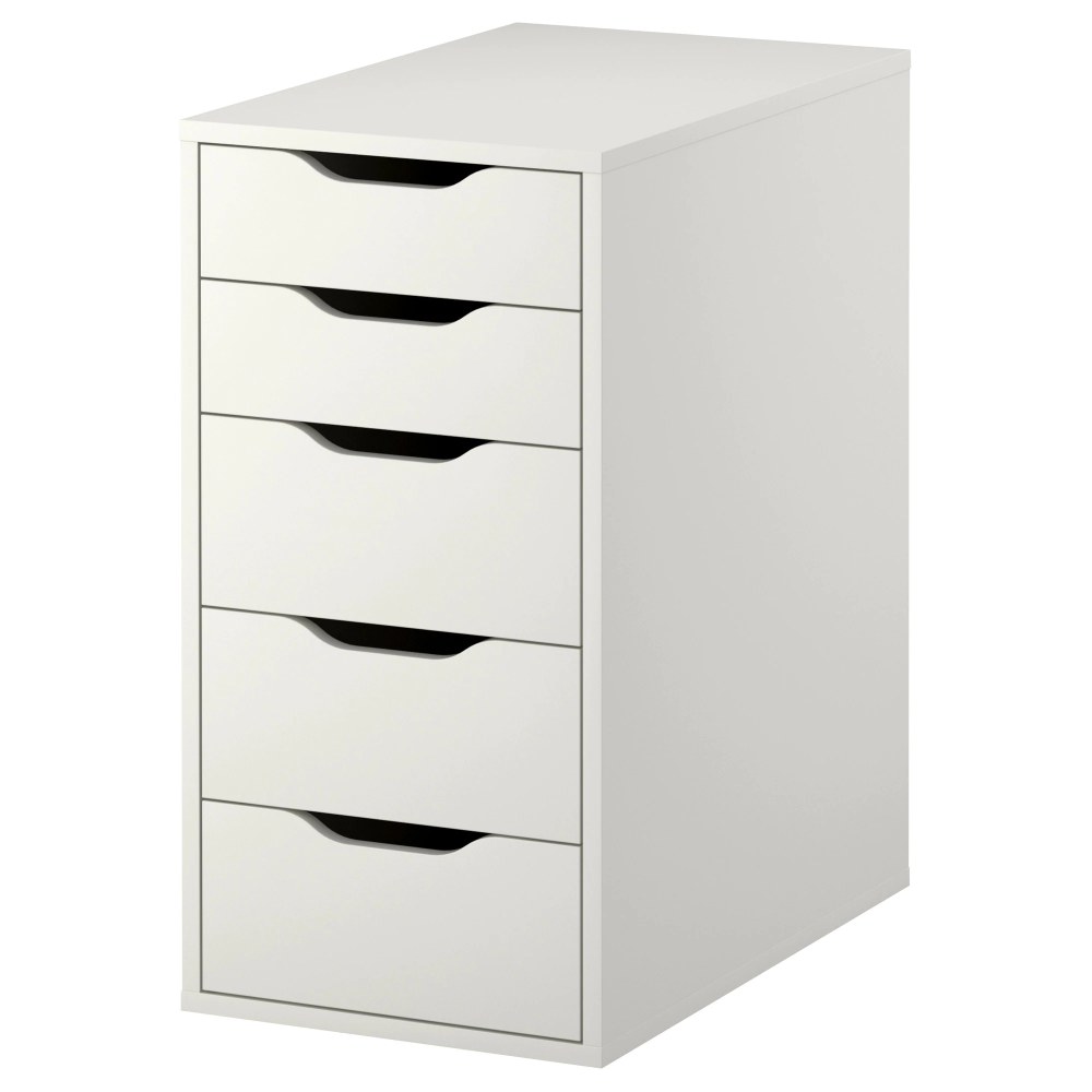 ALEX Drawer unit, white, 14 18x27 12