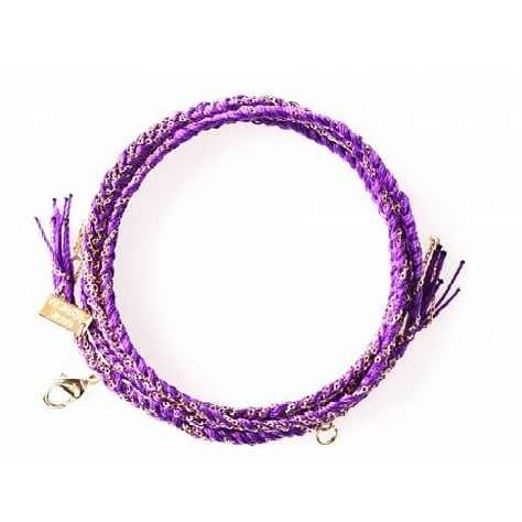 Our #purple cara #bracelet is a personal favourite of mine, such a #beautiful and striking colour