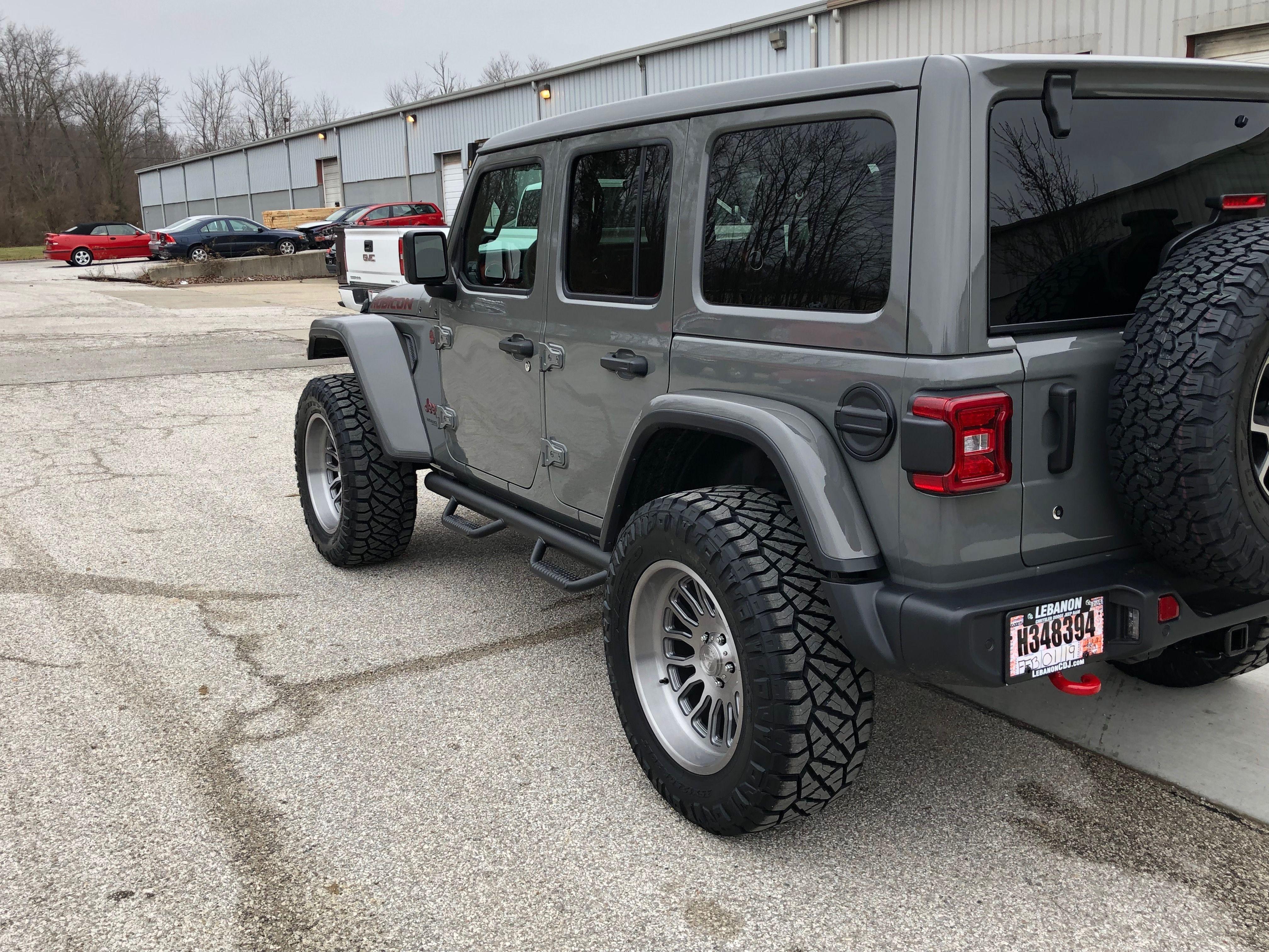 2019 Jeep Wrangler Rubicon Jl Sting Gray Jeep Jeep Wrangler