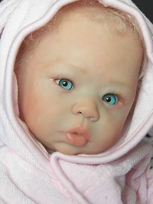 Reborn Girl Doll Eleanor by Laura Tuzio-Ross LE 1000! Stunning Blonde/Blue Eyes!