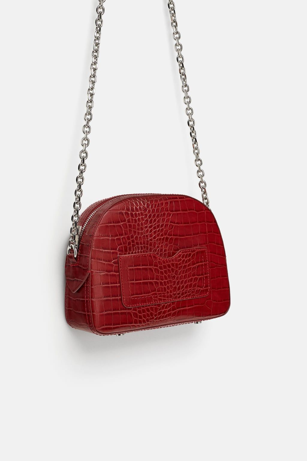 ea5c9a71344c5 EMBOSSED ANIMAL PRINT CROSSBODY BAG from Zara