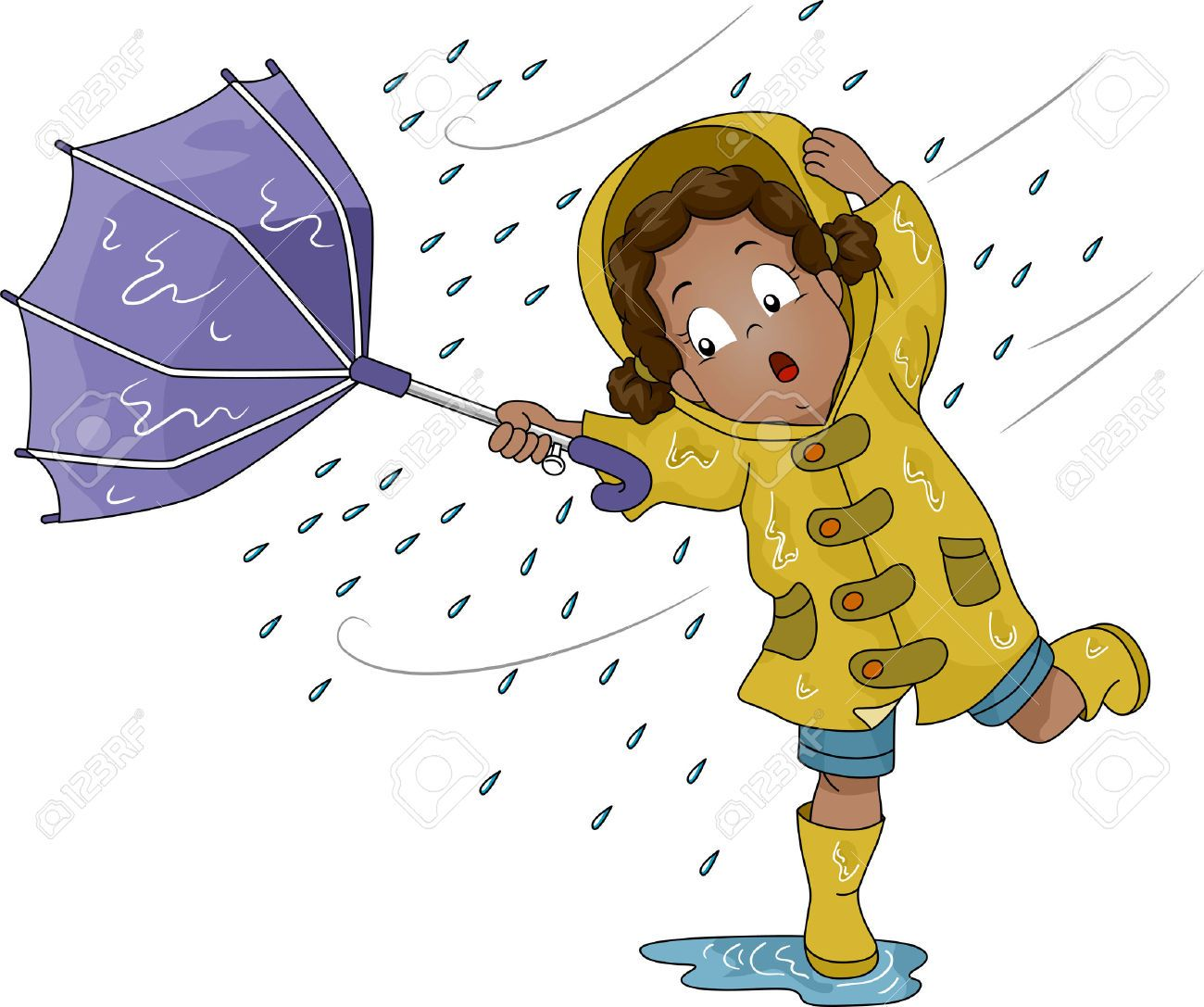 Weather Clipart Image By Vancouver Umbrella On Out In The