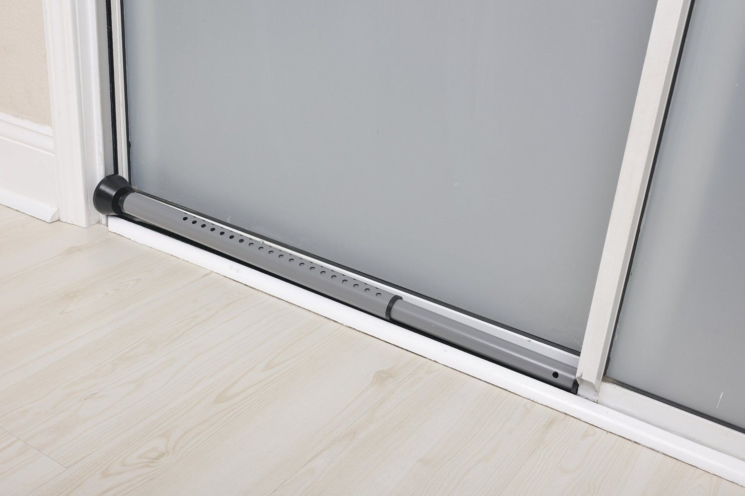 Sliding Door Security Bars For Added Security Home Renovation