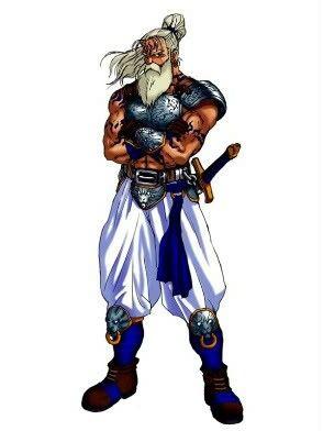 Warrior white hair