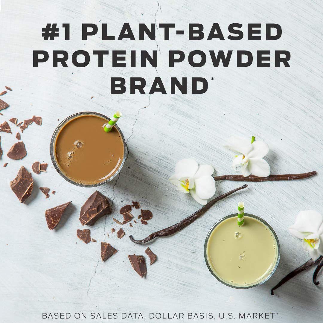 Vega Essentials Shake Chocolate 17 Servings 21 6 Oz Plant Based Vegan Protein Powder N Plant Based Protein Powder Vegan Protein Powder Plant Based Protein