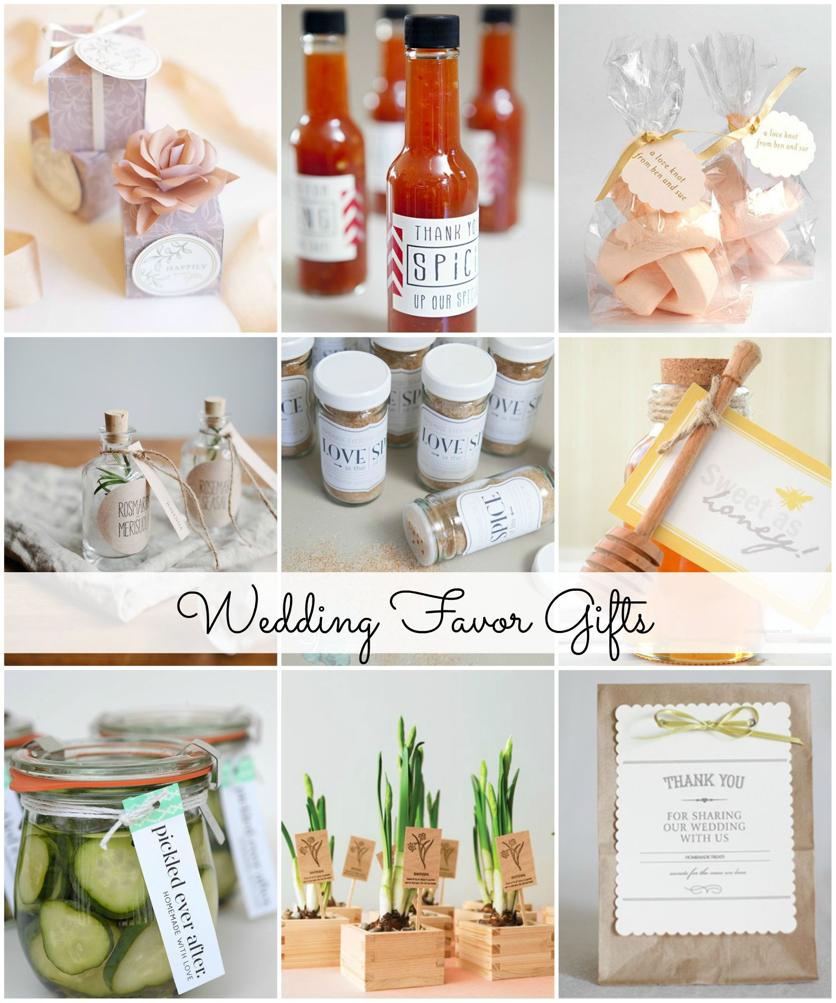 Wedding Favor Gift Ideas | Favors, Gift and Weddings