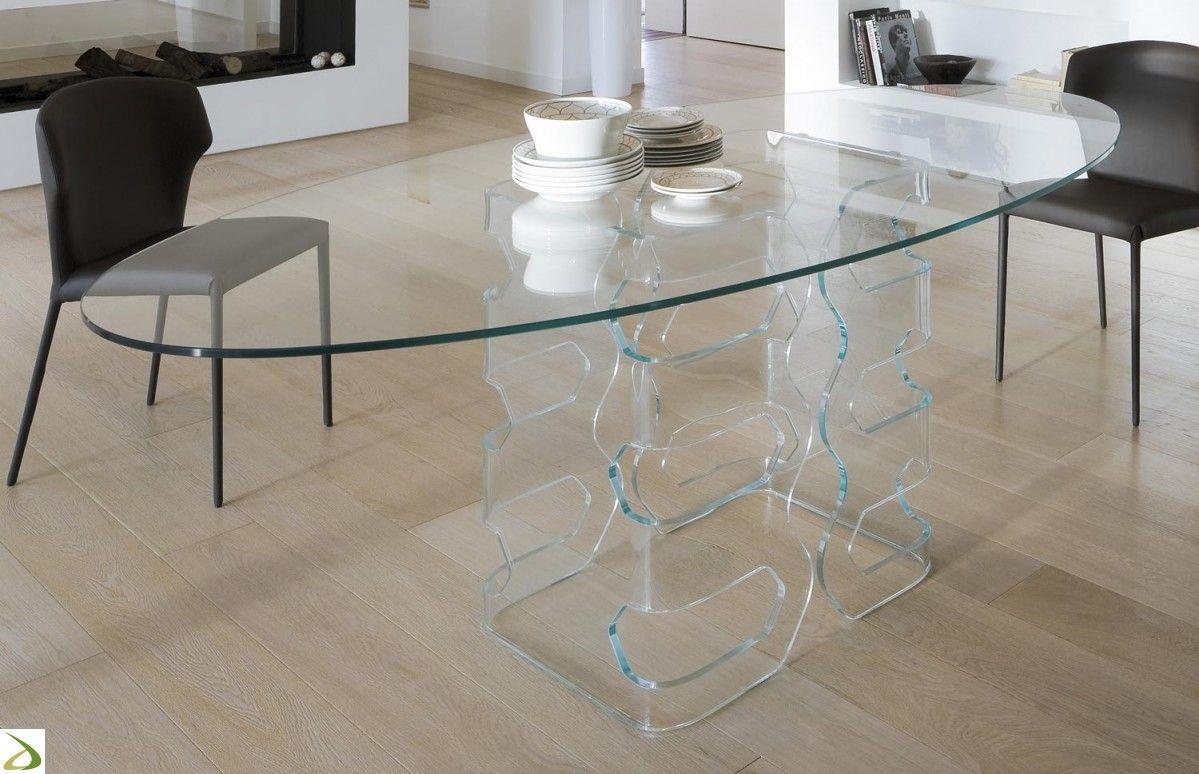 Tavolo Rettangolare In Vetro.Tavolo Robin Soggiorni Design