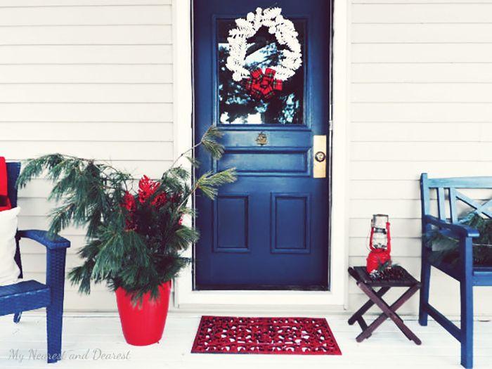 50 Best Christmas Door Decorations for 2017 🎄 Christmas door