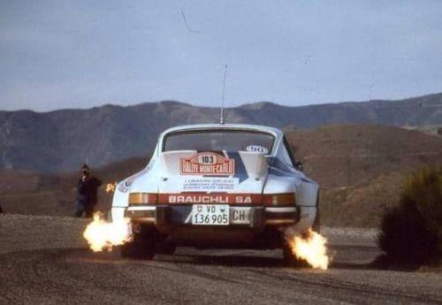 "joseluis72: ""Fire! 1 - Stefan Johansson - Ferrari - Monaco GP 1985 2 - Jorge Lorenzo - Yamaha 3 - Porsche - Monte Carlo Rally 4 - Imsa ??? 5 - Porsche 6 - Peugeot 205 T16- Tour de Corse 7 - Ferrari - 24 Hours of Le Mans 8 - Audi Quattro S1 - RAC..."