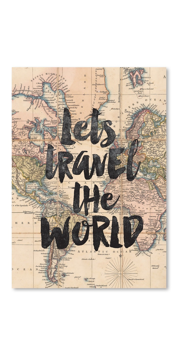 Poster Lets Travel The World Like This Pin ? Follow Me @Taran_k06 For More  Like This !