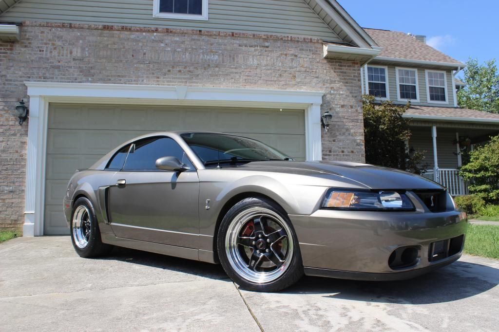 03 Svt Mustang Cobra With Rts Weld Racing Wheels Mustang Cobra