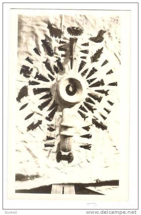 RP: Indian Arrow Heads, collected Klamath Falls, Oregon, 1910-20s #2 Item number: 206009556  - Delcampe.com