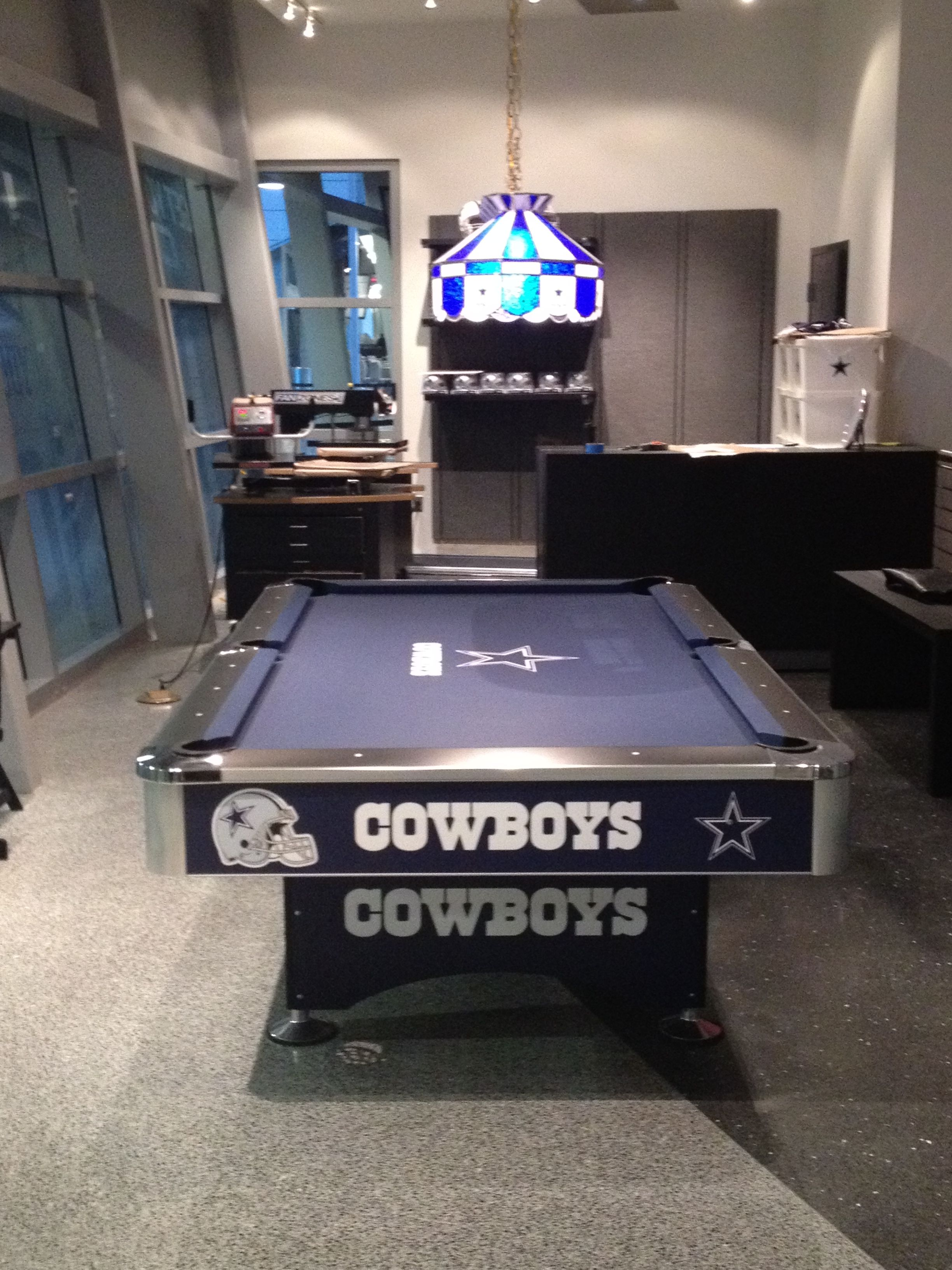 Dallas Cowboys Pooltable Dallas Cowboys Decor Dallas Cowboys