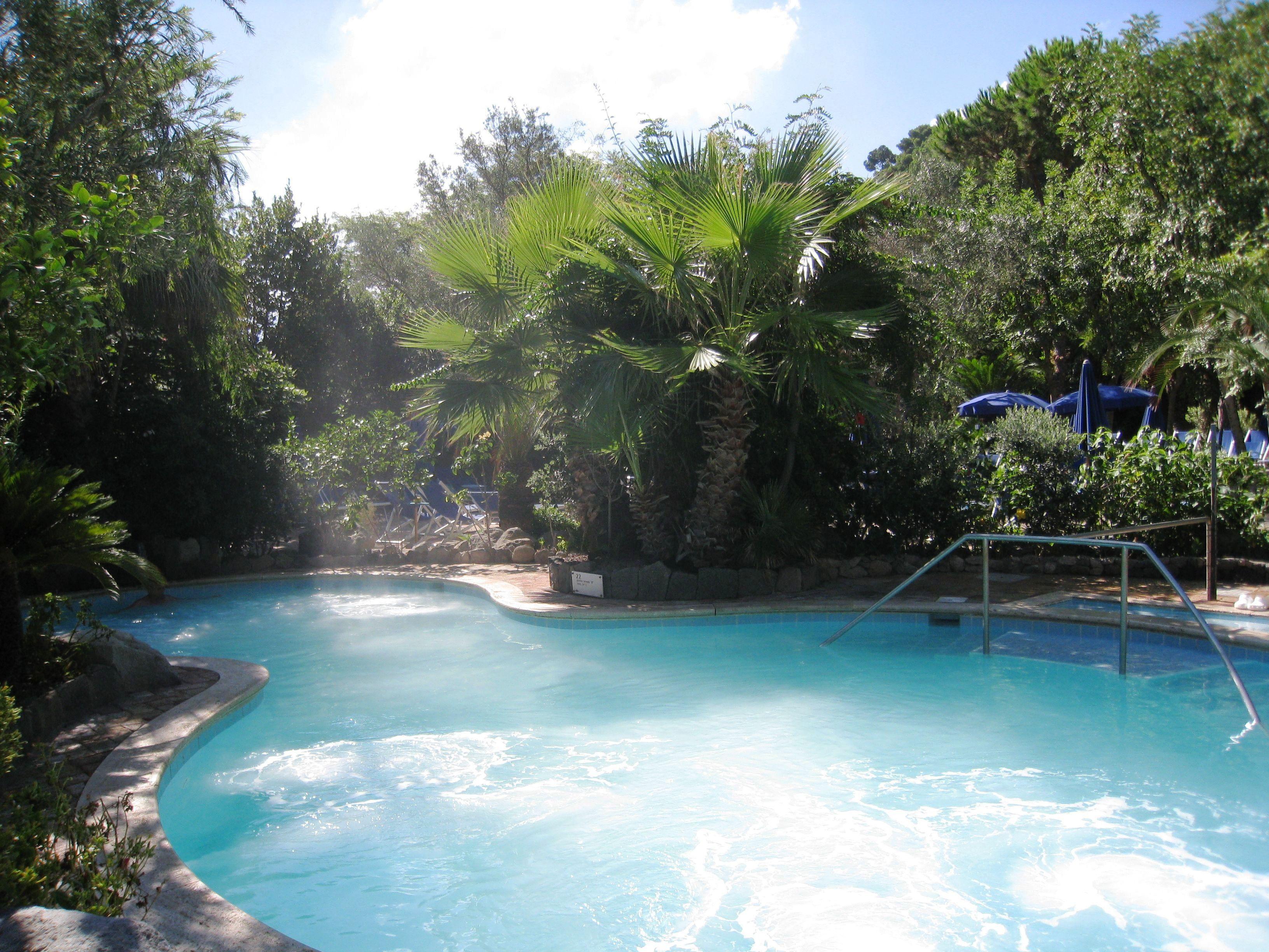 Parco termale Negombo, Lacco Ameno, Ischia Mansiones