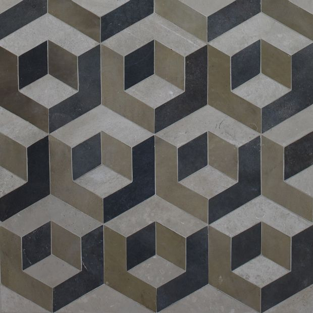 Reclaimed British Geometric Jones Pattern