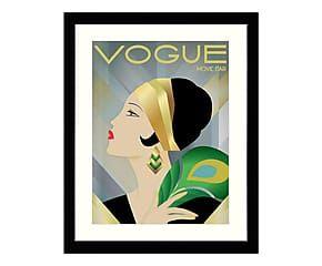 Stampa su carta con cornice Vogue Movie Star - 50x62 cm