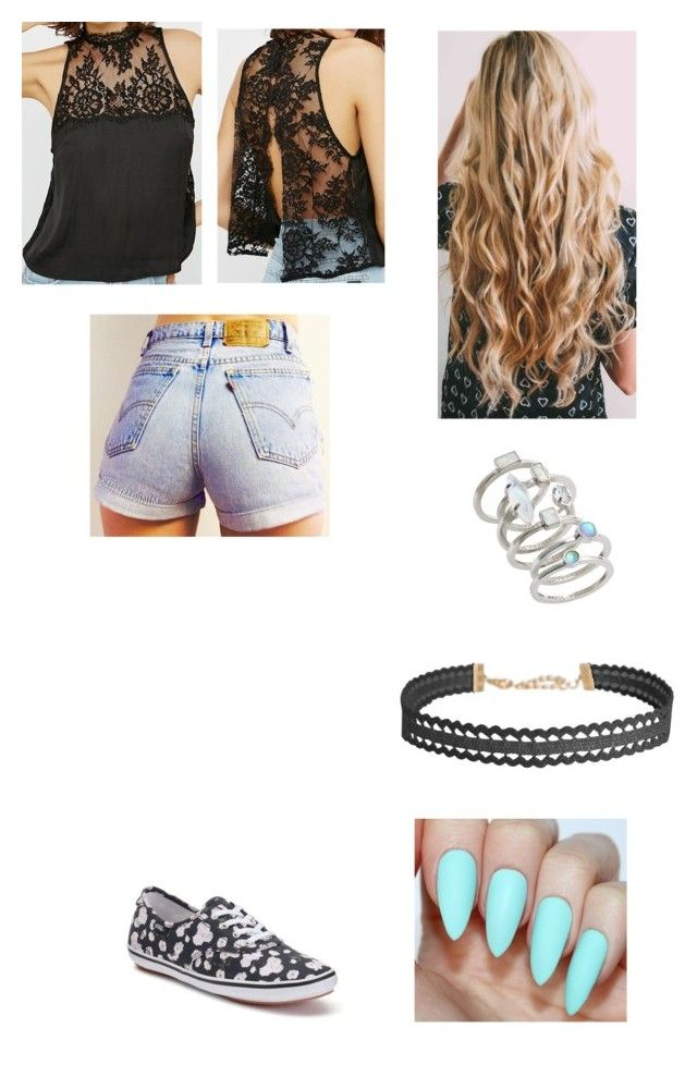 """""""Untitled #303"""" by klarabahnik on Polyvore featuring Free People, Vans, Kendra Scott and Humble Chic"""