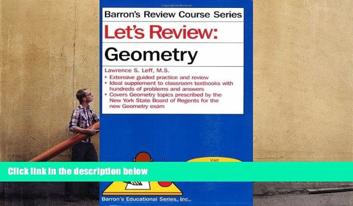 PDF [FREE] DOWNLOAD Let s Review: Geometry (Barron s Review Course ...