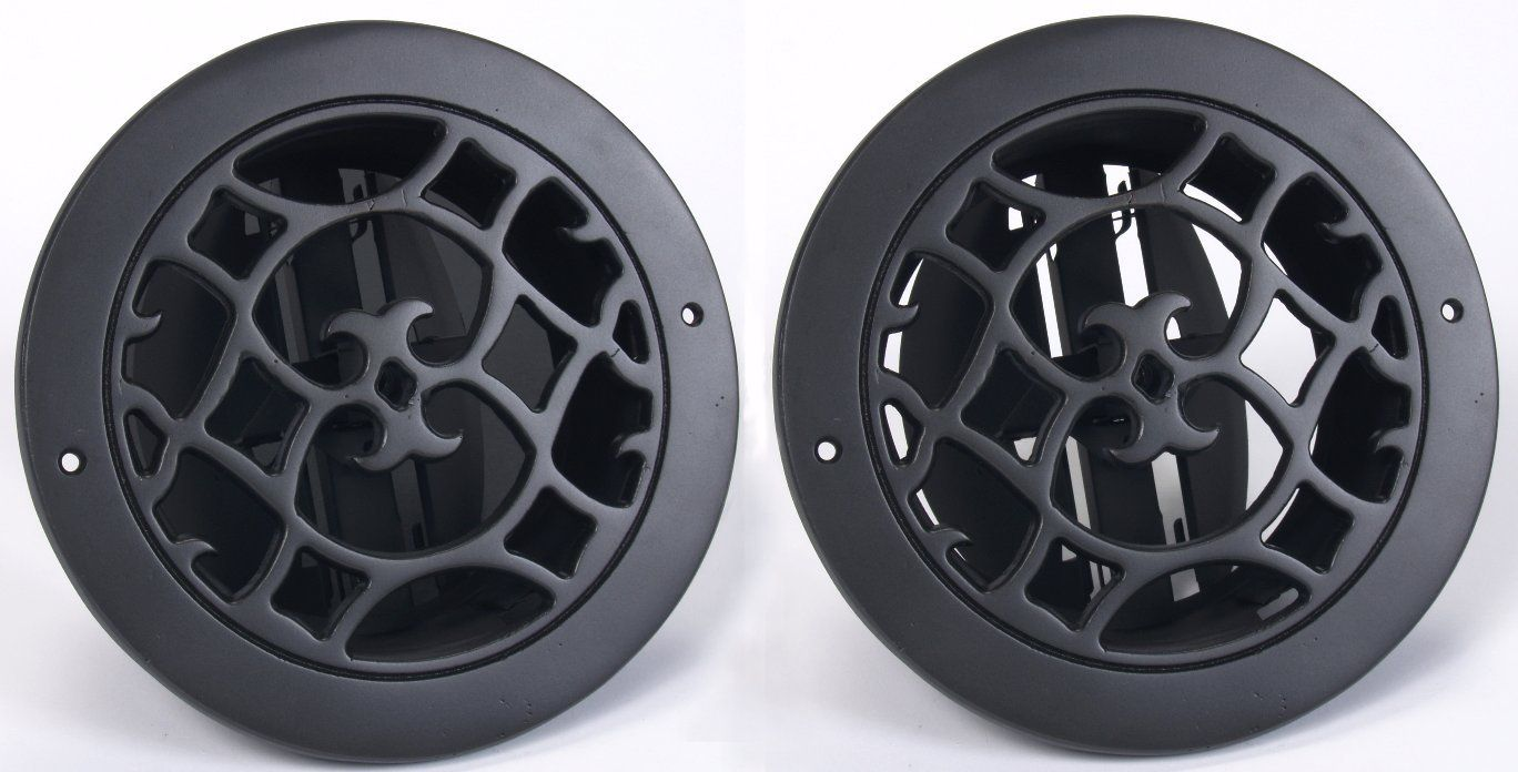 Round Air Vent Covers With Adjustible Air Flow Round Air