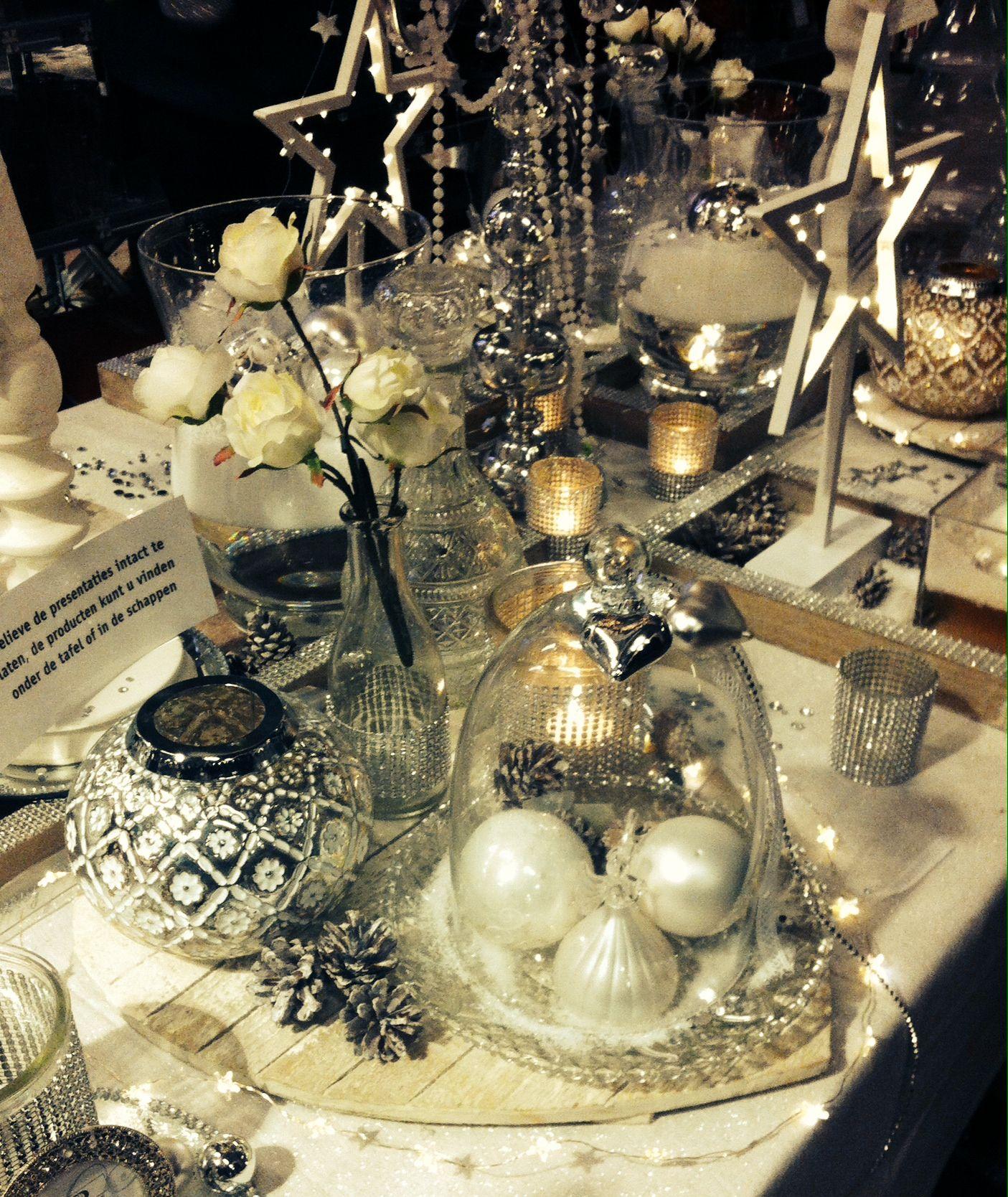 Christmas table decorations winter wonderland intratuin for Intratuin ijsselstein