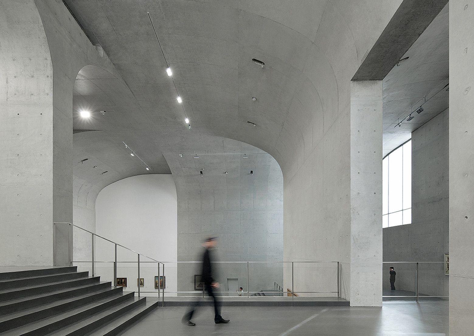 Gallery Of Long Museum West Bund Atelier Deshaus 5 Architecture Concrete Architecture Concrete Interiors