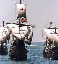 Los barcos de Cristóbal Colón: LA NIÑA, LA PINTA Y LA SANTA MARIA