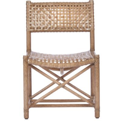 McGuire+Furniture:+Antalya(TM)+Laced+Rawhide+Armless+Chair:+LM-44 ...