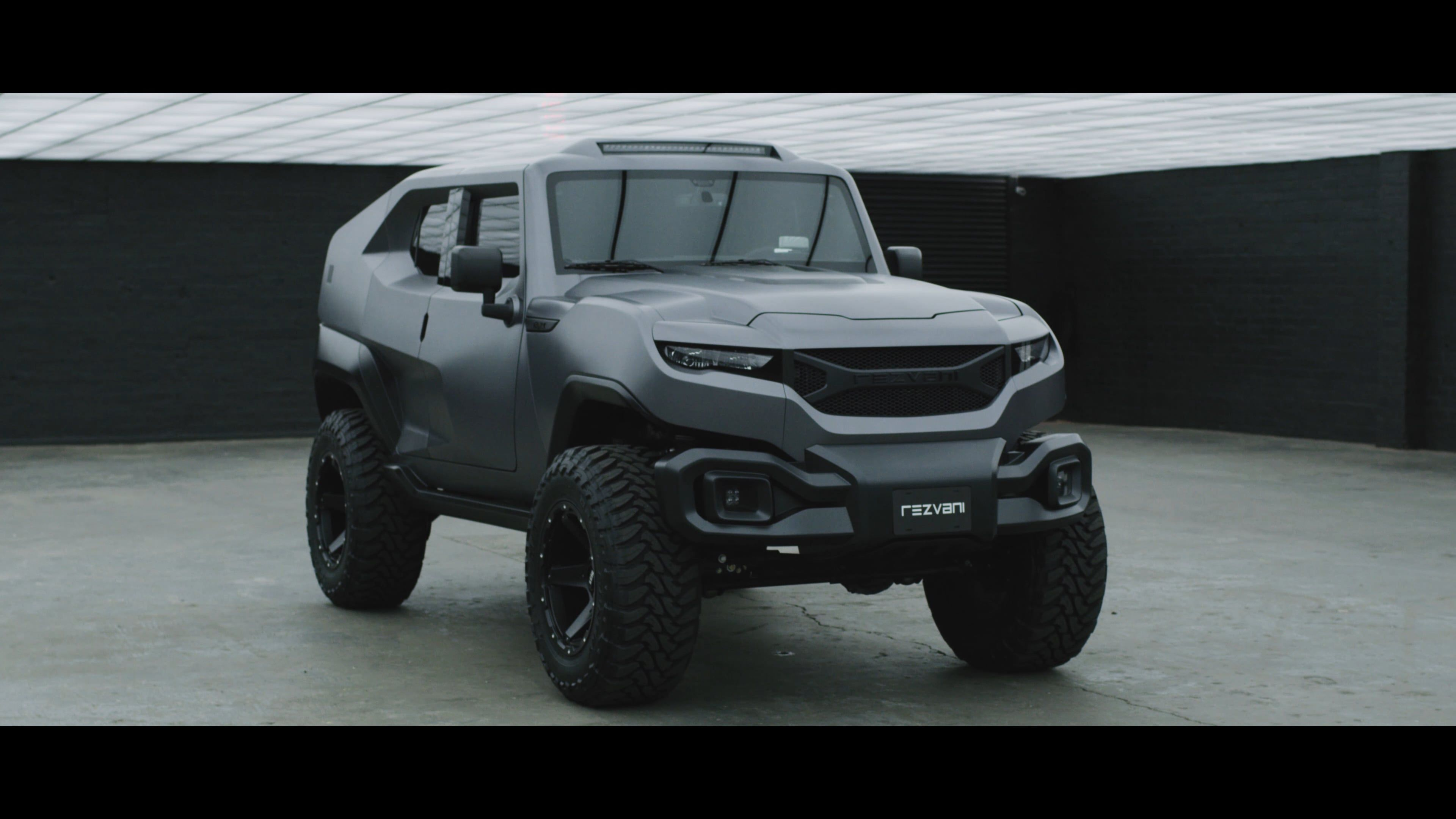 Rezvani Tank Military Inspired Built To Take On Anything Tanks Military Military Inspired Car Videos