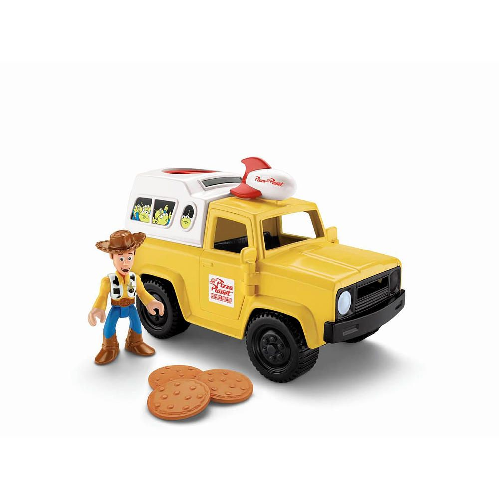 Toys Are Us Search : Fisher price imaginext toy story pizza planet truck