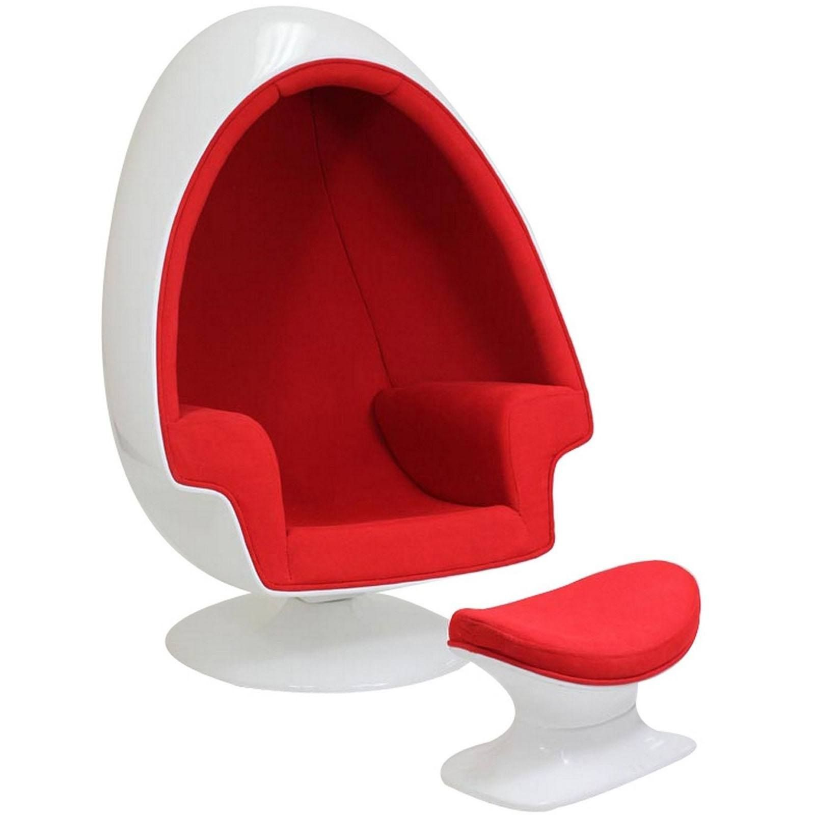 Affordable Egg Chair Arne Jacobsen Style Alpha Shell Egg Chair Ottoman Furniture
