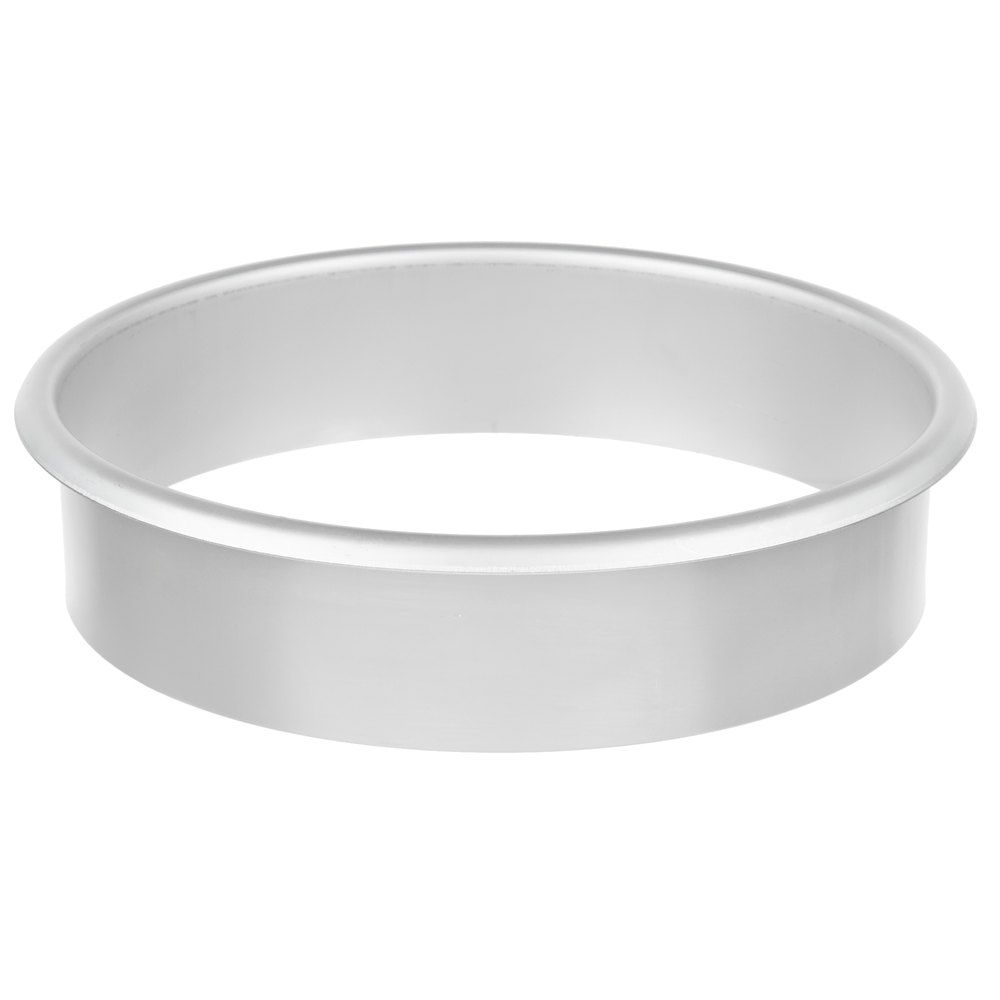 Vollrath 8y802 8 3 4 X 2 Round Stainless Steel In Counter Trash