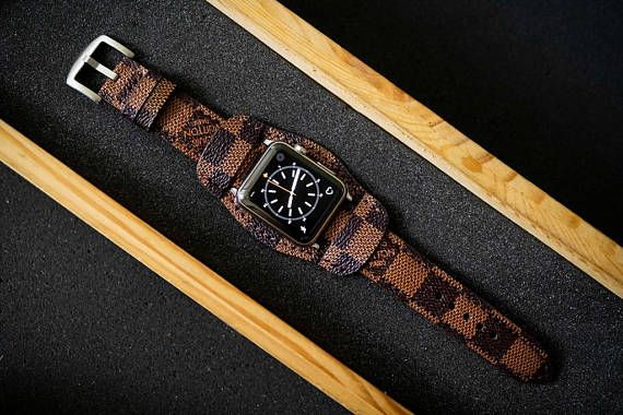 Handmade Vintage Apple Watch Strap Band 38mm Or 42mm Series 1 And
