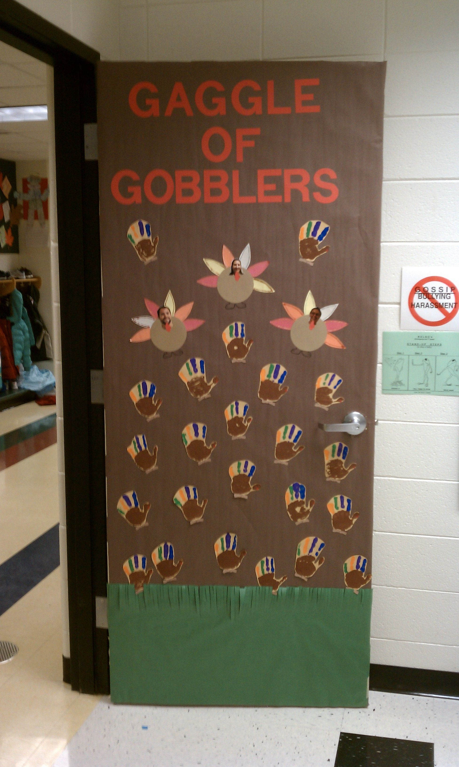 November Classroom Door Thanksgiving Classroom Thanksgiving