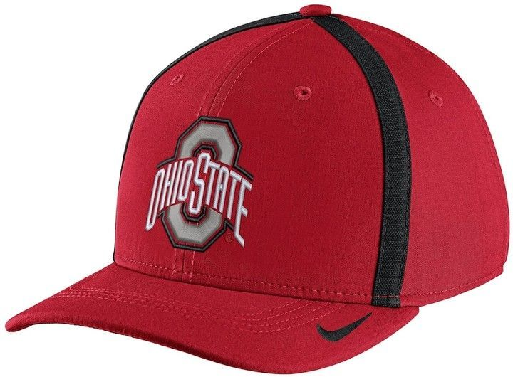 the latest 651dc 0451d Nike Adult Ohio State Buckeyes Aerobill Sideline Cap