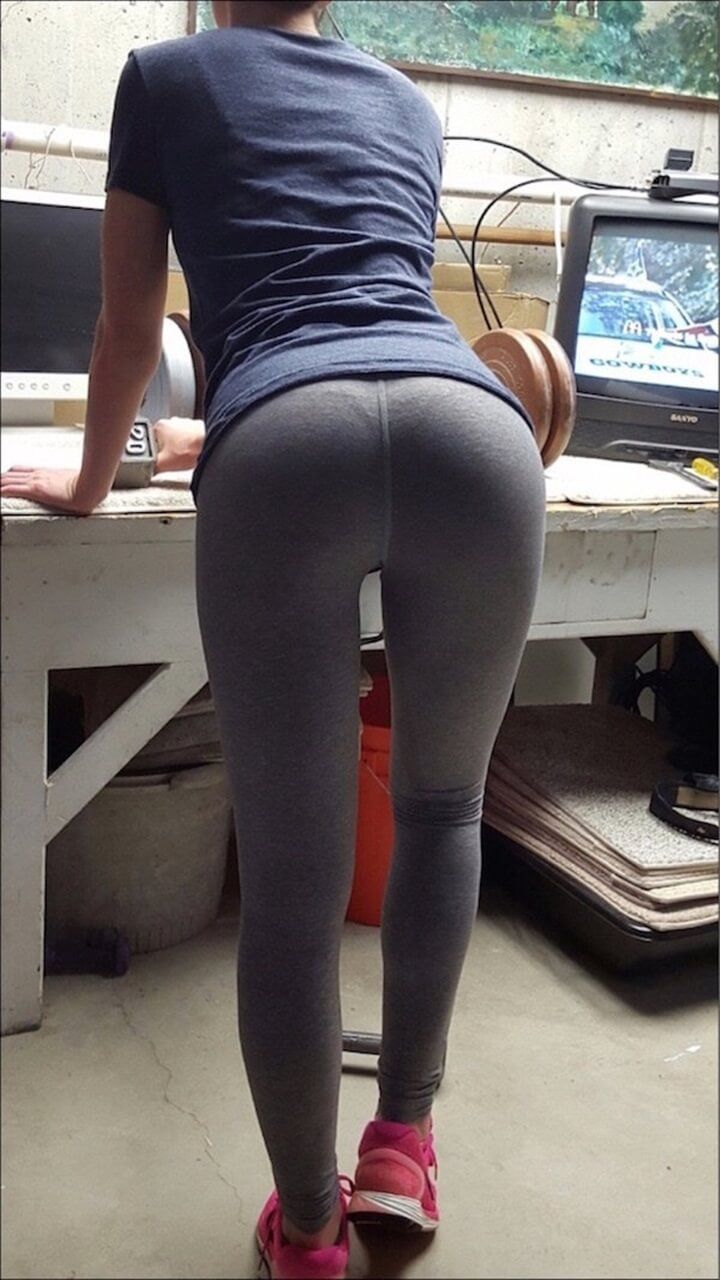 ärsche in leggings