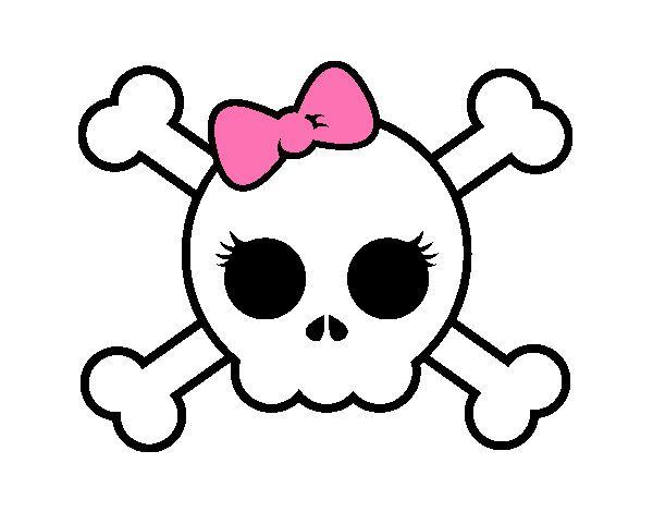 Calaveras Rockeras Para Dibujar Buscar Con Google Piratas Infantiles Dibujo Barco Pirata Dibujos De Piratas