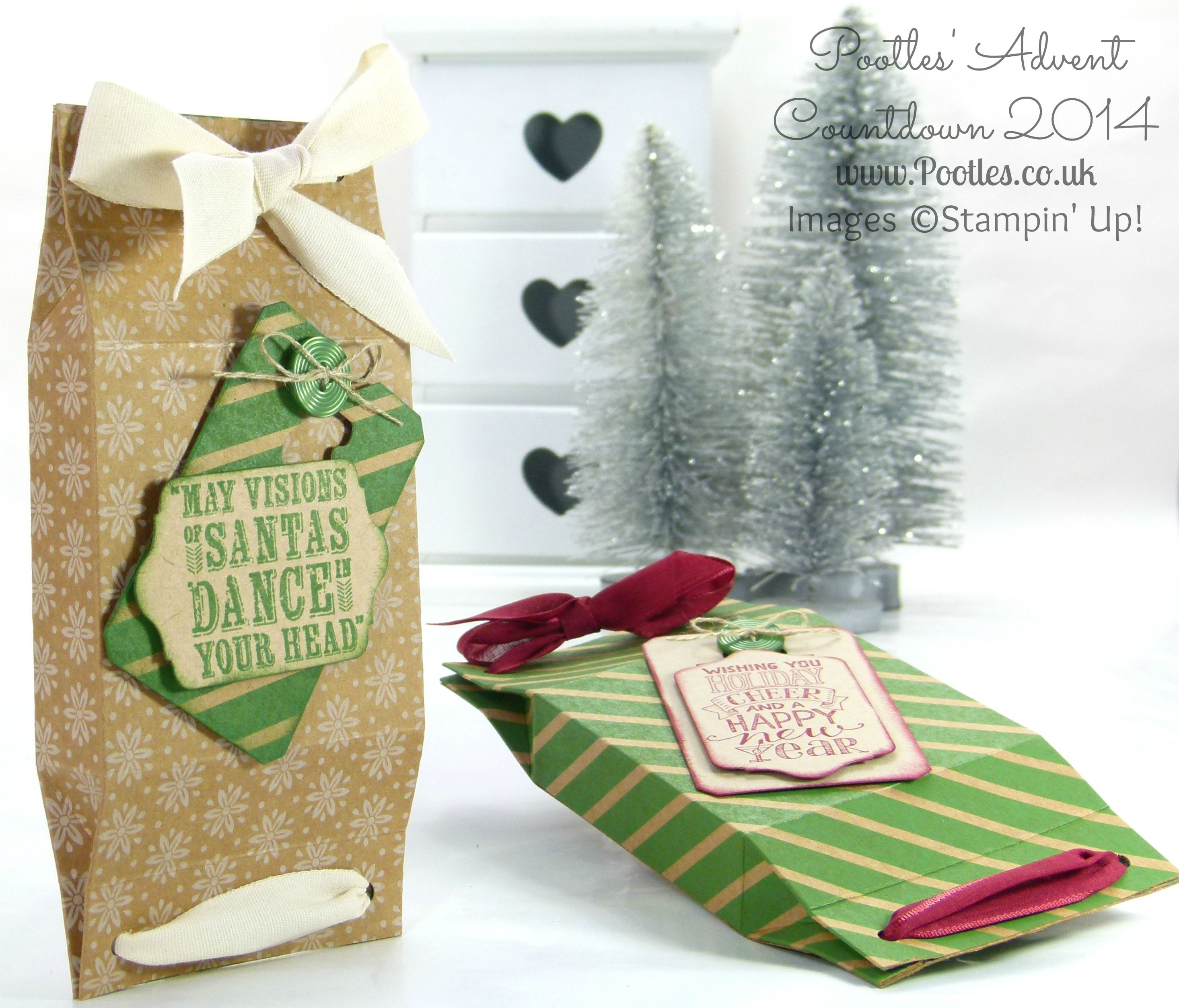 Advent Coundown #2 Double Pinch Close Box Tutorial