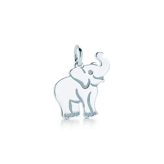 Elephant tag charm in sterling silver. #knotonmyplanet I would love to add this to my collection!